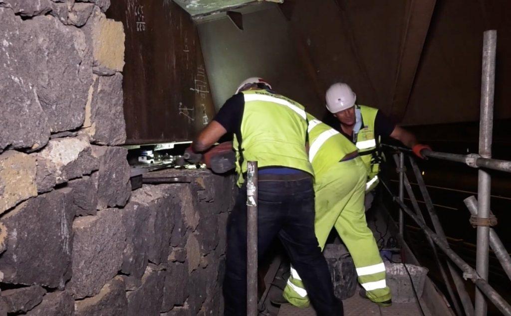 El Cabildo de Tenerife refuerza el puente de enlace de la TF-5 con La Orotava tras detectarse desperfectos