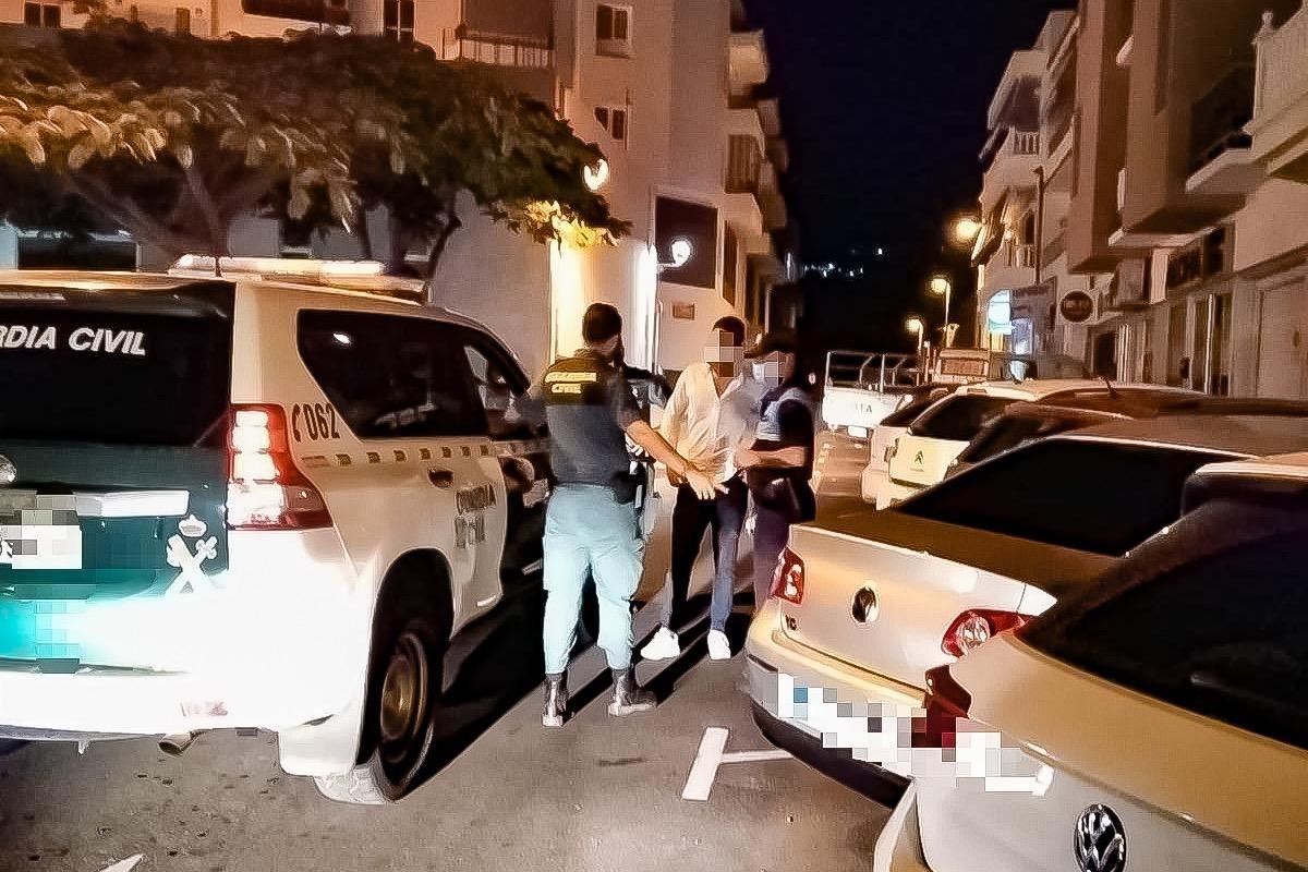 Refuerzo policial nocturno en Guía de Isora