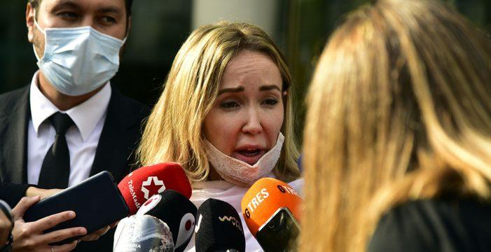 Ángela Dobrowolski queda en libertad con una orden de alejamiento a Josep María Mainat