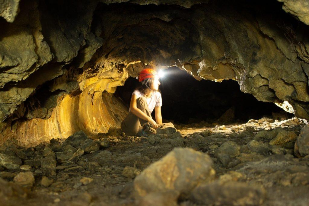 Interior de las cuevas colgadas de La Palma EUROPA PRESS
