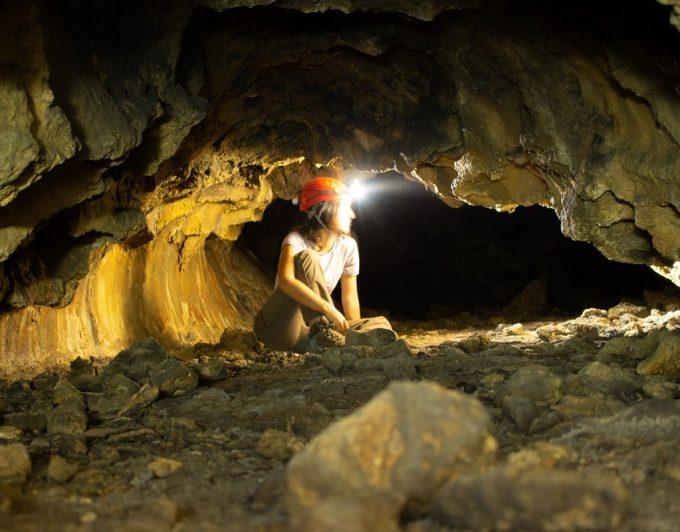 Encuentran restos arqueológicos intactos en las cuevas colgadas de La Palma