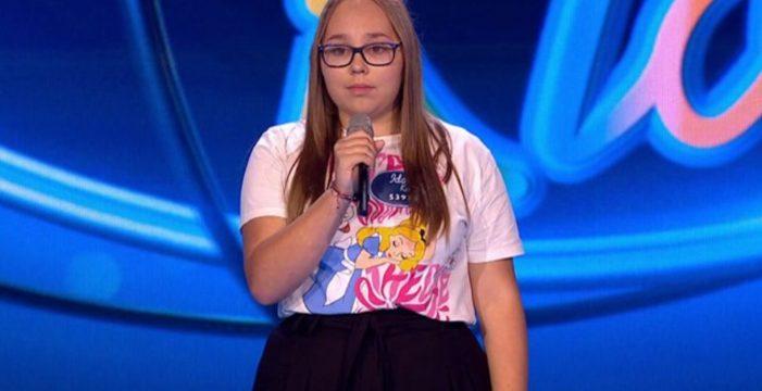 Inés, la joven tinerfeña que creyó que nunca pasaría un casting y pasó de fase en 'Idol Kids'