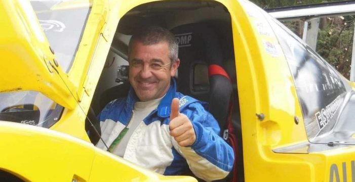 Muere el piloto navarro Iñaki Irigoyen tras chocar contra un muro en la Subida a Urraki