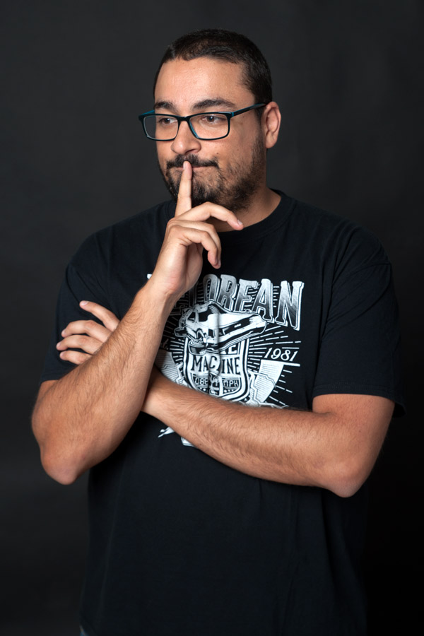 Juanfree Batista, monologuista. / DA