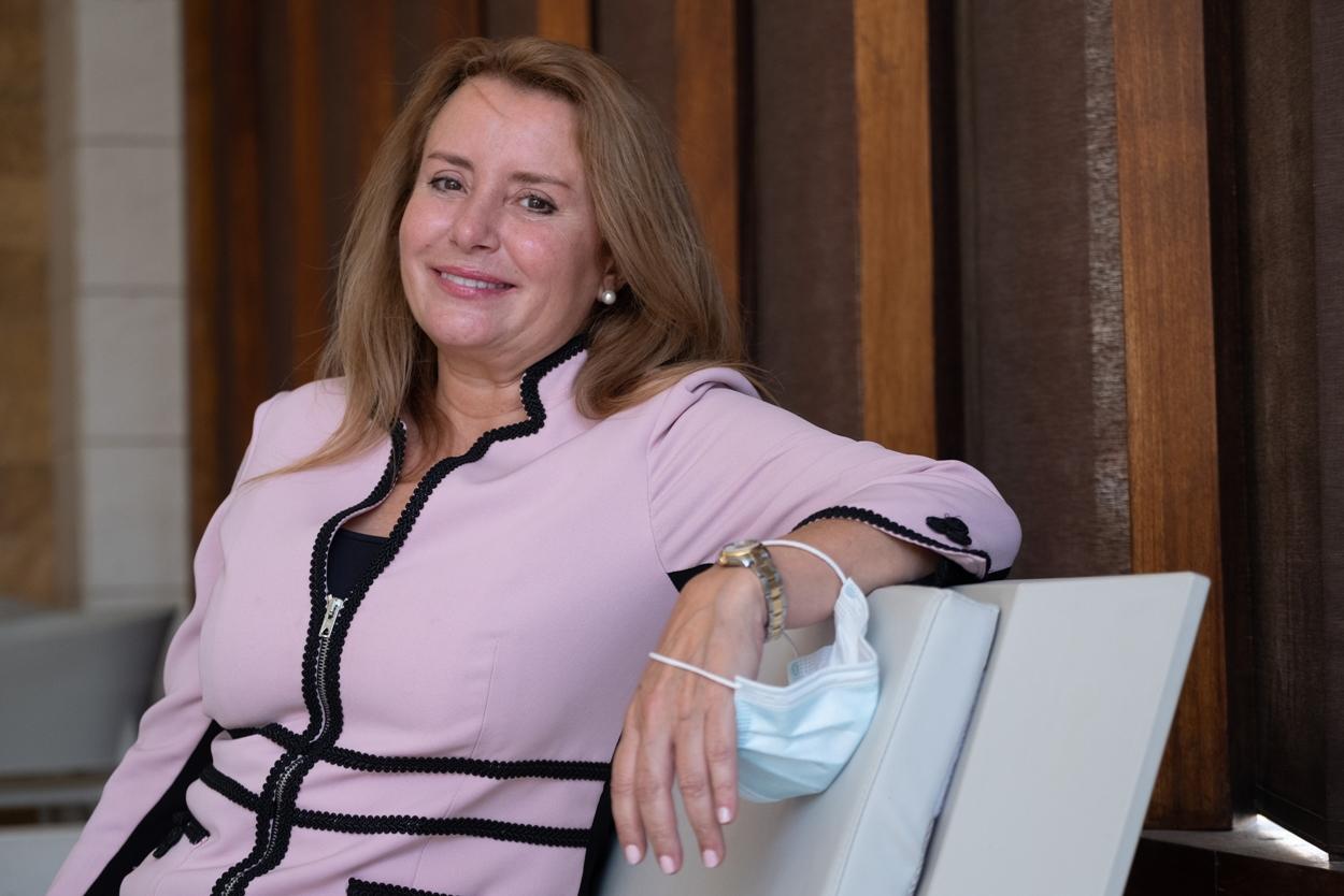 Nuria Martínez Ros, presidenta del partido Tercera Edad en Acción. / FRAN PALLERO