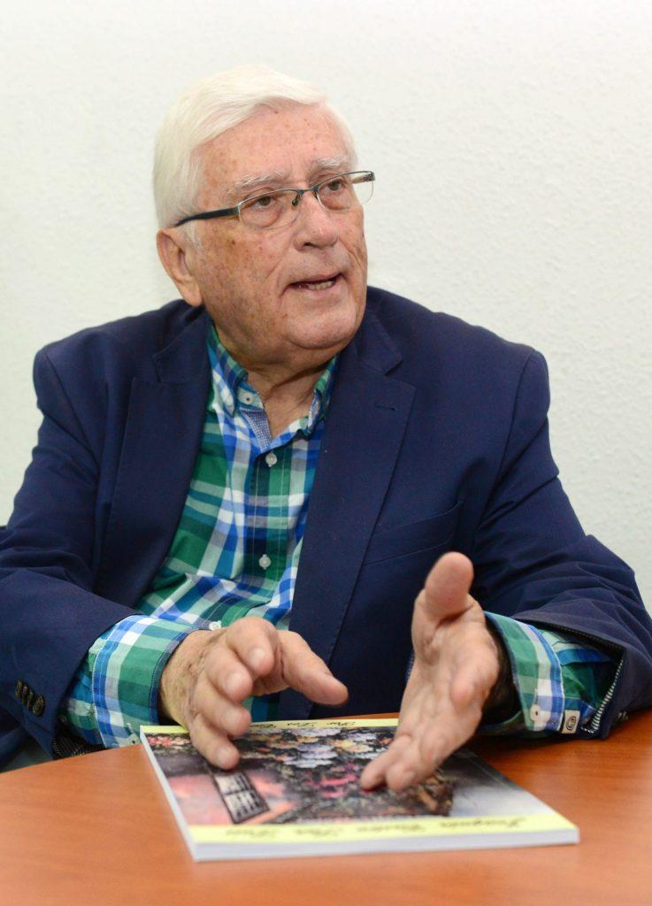 El crítico de arte Joaquín Castro San Luis. / DA