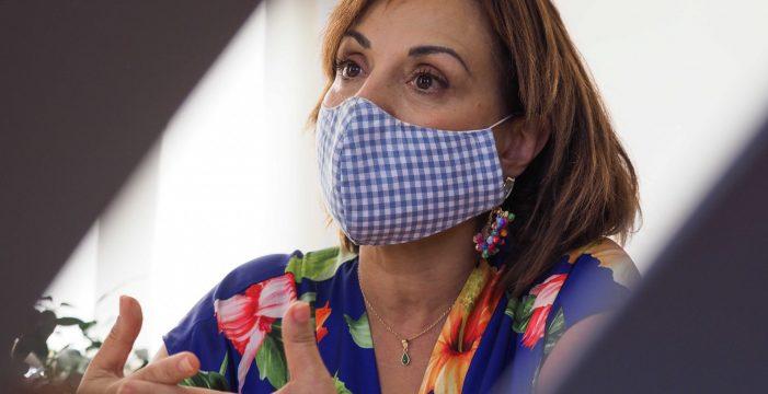 """Berta Pérez: """"Desde que el Gobierno impuso la mascarilla estamos más seguros, pero me preocupa 2021: va ser muy duro"""""""