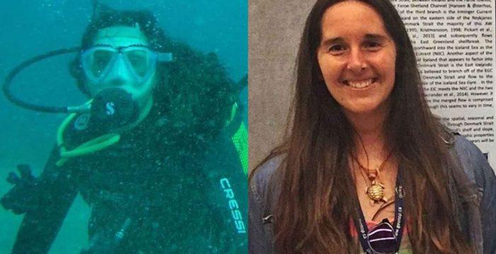 El rescate fallido de María, la submarinista canaria de 28 años que murió atrapada en un buque