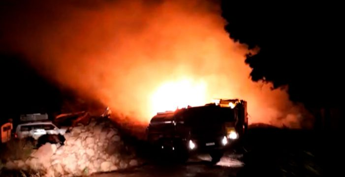 Controlado un conato de incendio en Garafía