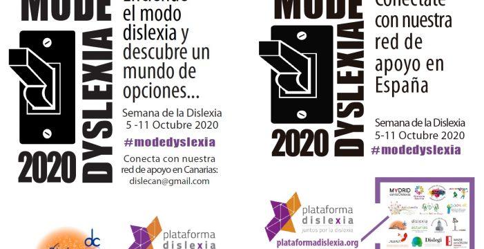 Plataforma Dislexia te invita a sumarte al #GoRedForDyslexia por el Día Europeo de esta dificultad