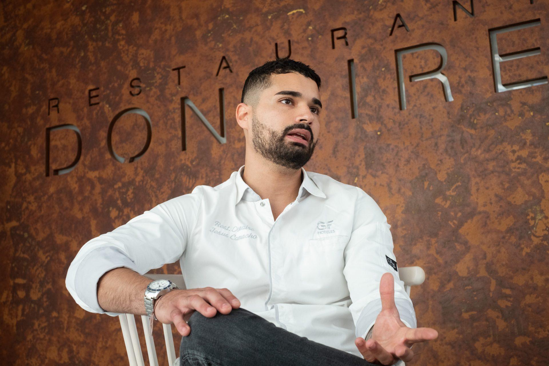 Jesús Camacho, chef pastelero de Donaire. Fran Pallero