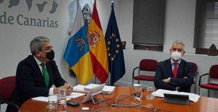 """Canarias podrá contar en 2021 con presupuestos propios """"sin recortes"""""""