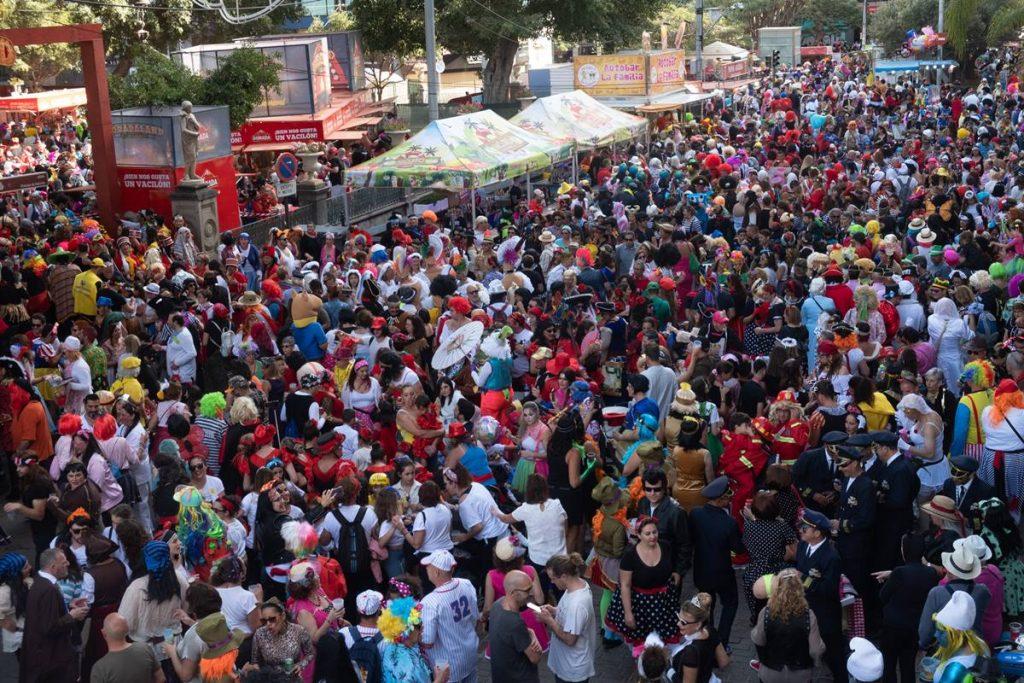 Imagen del Carnaval de Día de este año. Fran Pallero