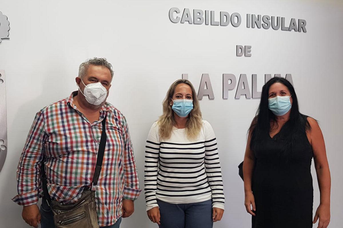 Vicente Brito, Susana Machín y Lourdes López