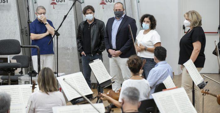 La OST graba en el Gran Telescopio Canarias la 'Heroica' de Beethoven