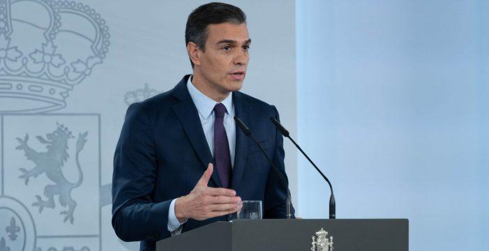 Sánchez convoca este domingo un Consejo de ministros extraordinario para declarar el estado de alarma