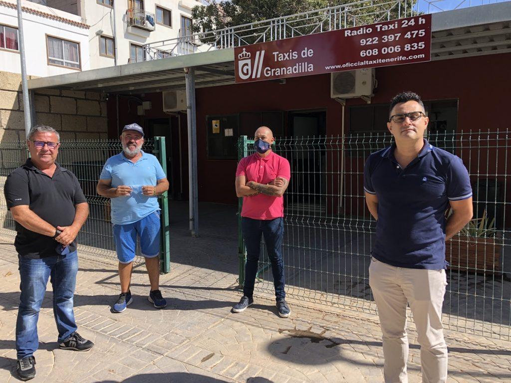 """Taxistas del sur de Tenerife: """"Hay compañeros que piden comida a los Servicios Sociales"""""""