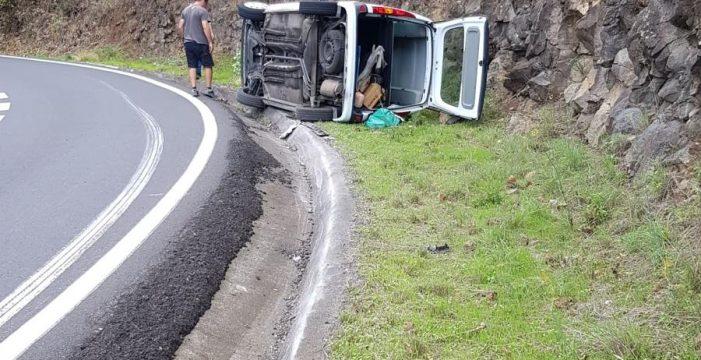 Hasta seis accidentes de tráfico en la LP-3 este fin de semana