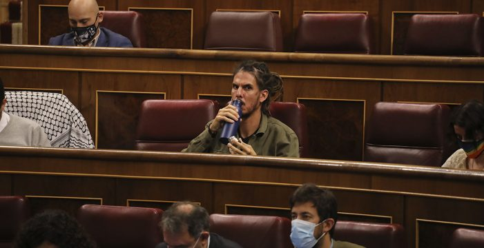 El Supremo cita a declarar como investigado al diputado de Unidas Podemos Alberto Rodríguez