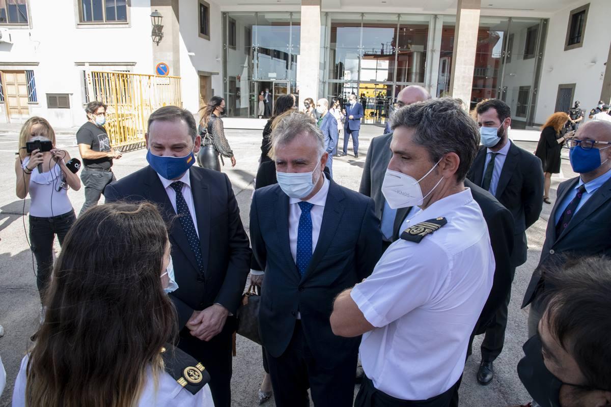 Visita a Canarias de los ministros Ábalos y Escrivá. EP