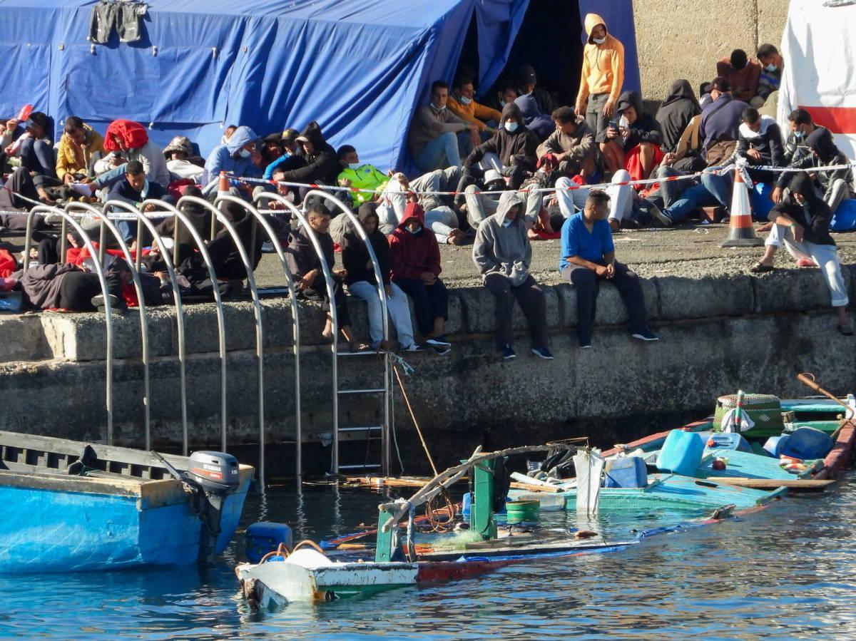 Imagen del Muelle de Arguineguín. Reuters