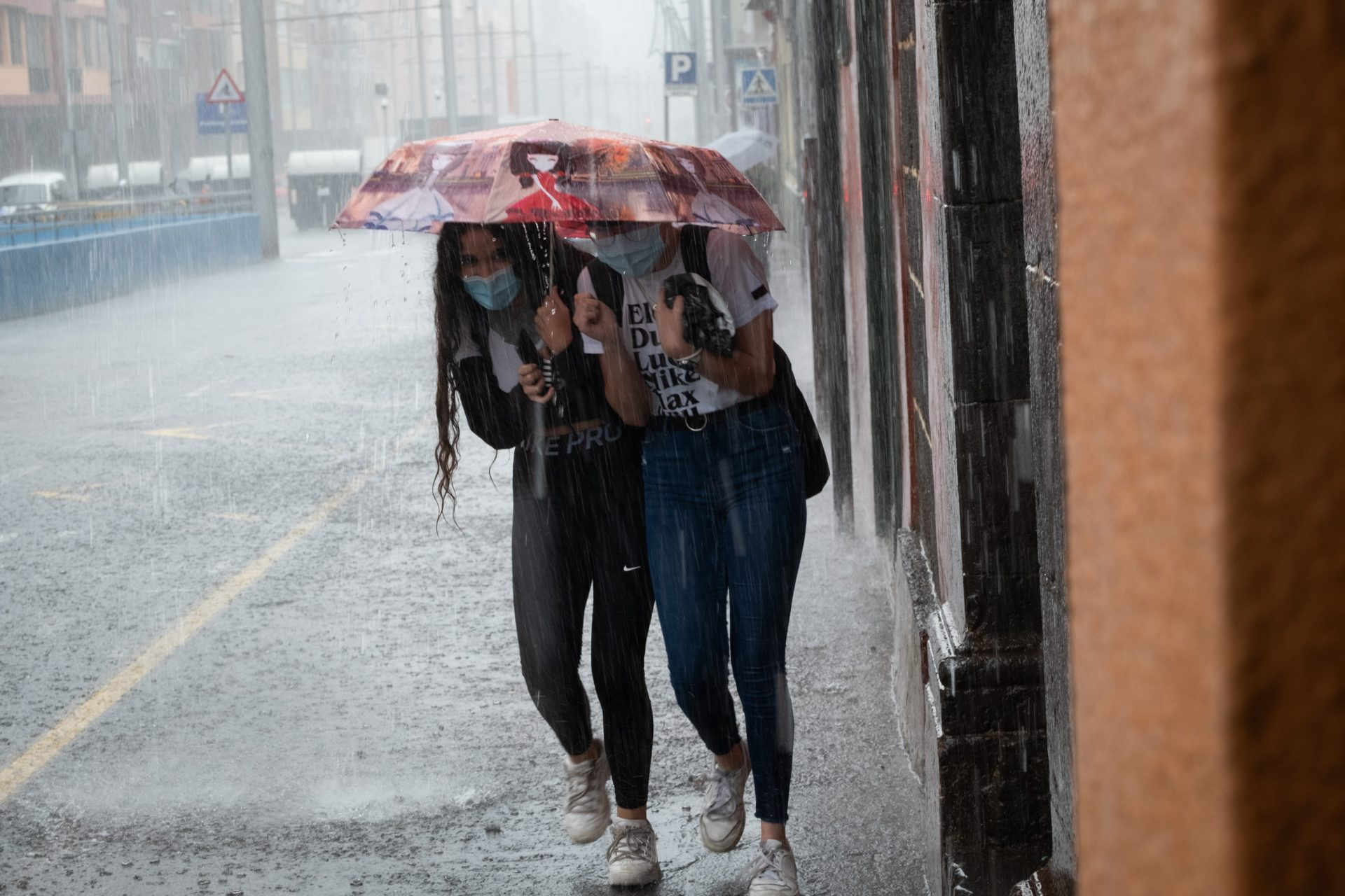 Las precipitaciones podrían superar los 15 litros de agua en una hora en Lanzarote y Tenerife. FOTO: Fran Pallero