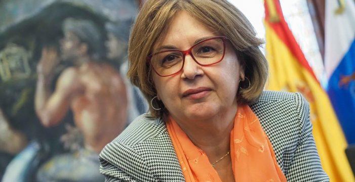 """Josefa Mesa, alcaldesa de Guía de Isora: """"La pandemia ha triplicado las ayudas sociales"""""""