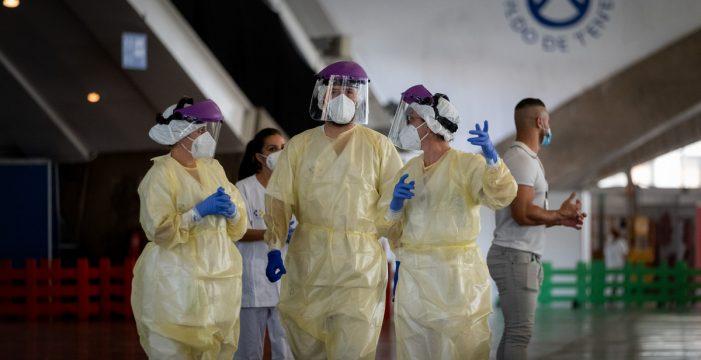 Sanidad registra 151 contagios en Tenerife en el último día