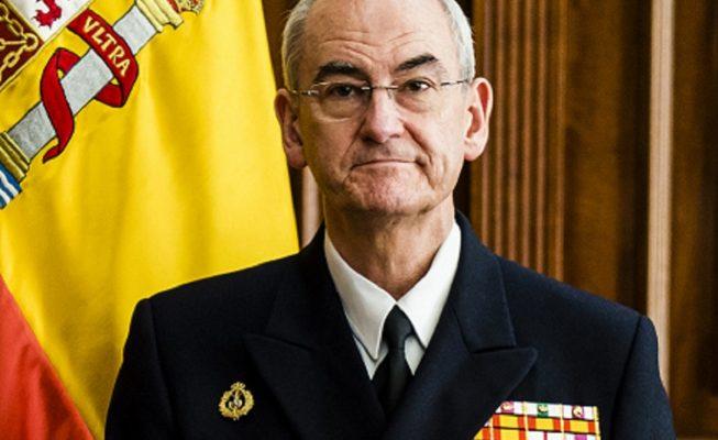 """Jefe de la Armada: """"La obligación de los barcos de guerra es rescatar pateras"""""""