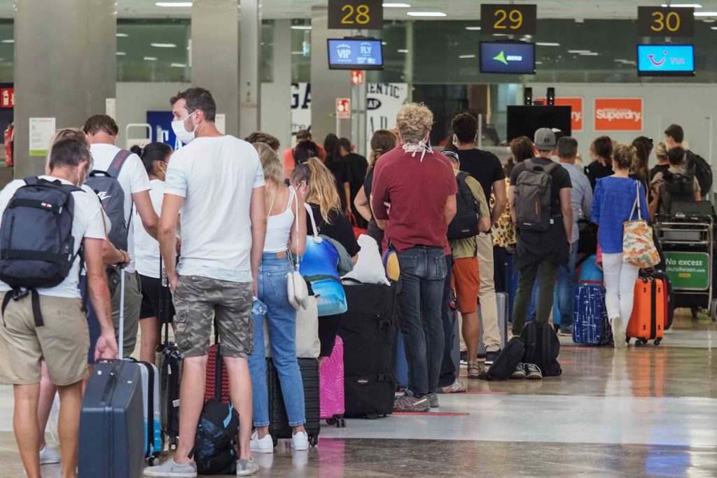 El gasto realizado por los turistas extranjeros en las Islas alcanzó en septiembre los 123 millones de euros. DA