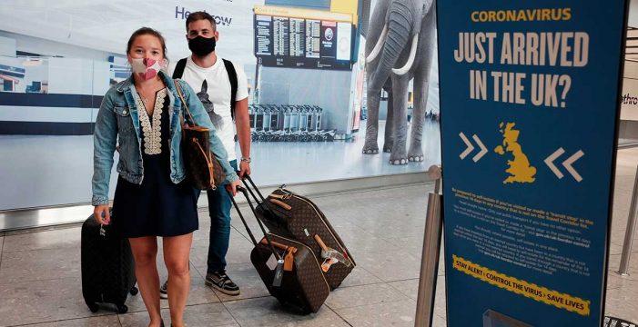 Reino Unido permitirá una cuarentena reducida a los viajeros que lleguen al país