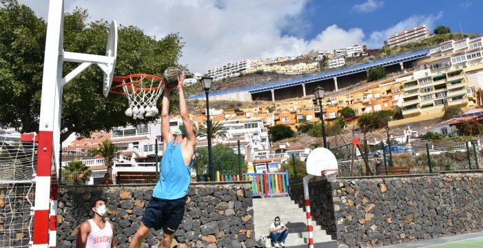Se reabre un espacio polideportivo en Tabaiba Baja