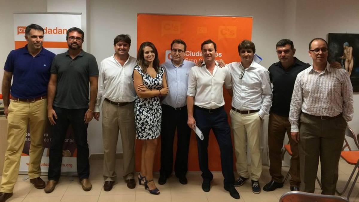 Equipo directivo de Ciudadanos en Las Palmas de Gran Canaria.   Ciudadanos-Canarias Ahora