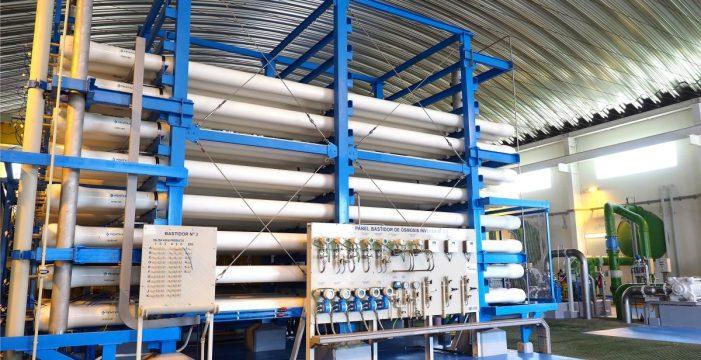 La desalación de agua, un recurso seguro y de futuro