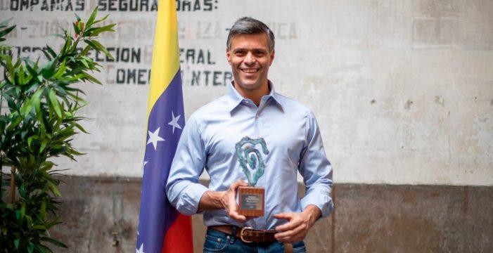 """Leopoldo López: """"Maduro es un criminal, un dictador, y necesitamos el apoyo de Canarias y el mundo entero para salir adelante"""""""