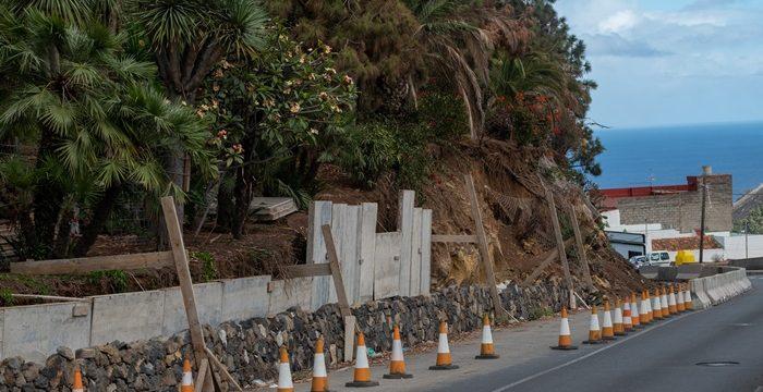 El muro por el que se lamentan tres municipios