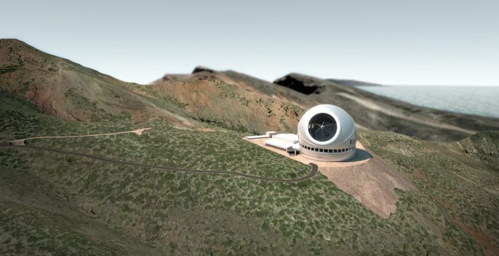 Los 800 millones de dólares que le pueden arrebatar casi definitivamente el TMT a La Palma