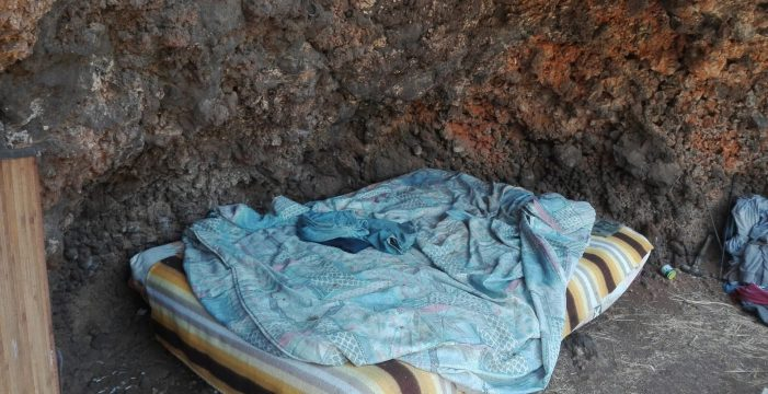 Cáritas ayuda en lo que va de año a 130 personas sin hogar en La Palma