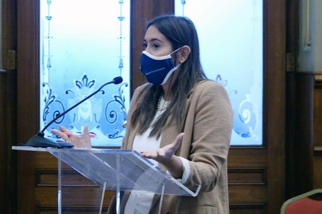 Rosario González es la concejal de Atención Social de Santa Cruz. / DA