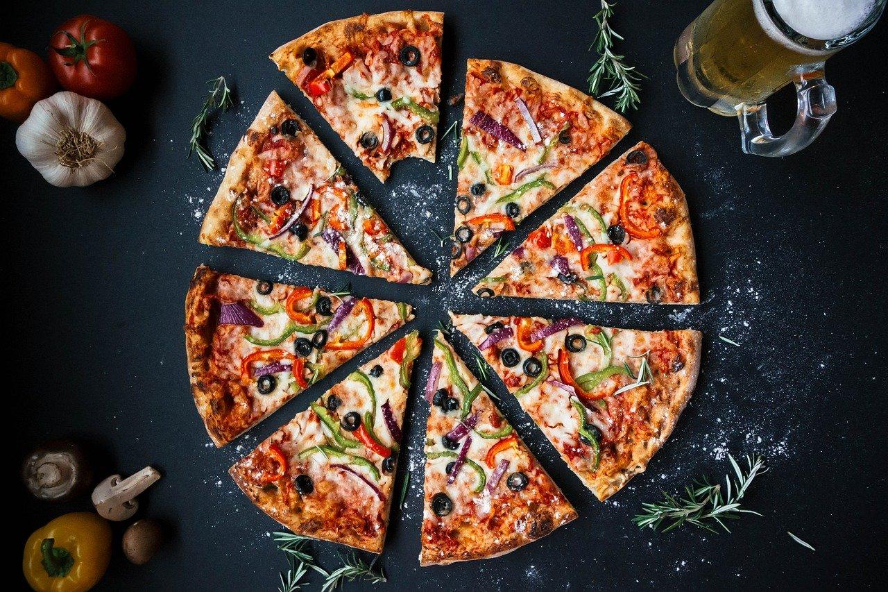 Imagen de recurso de una pizza. Pixabay