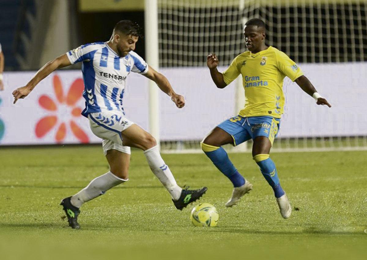 El equipo de Fran Fernández maniató al conjunto amarillo en la primera parte y no mereció salir derrotado del estadio de Gran Canaria. LALIGA