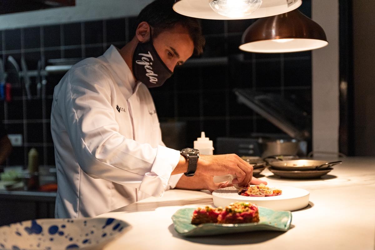 """Borja Marrero, de Texeda: """"El 90% de los productos que usamos son de Gran Canaria """""""