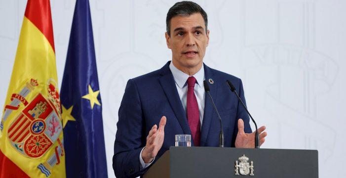 Sánchez no se plantea acortar el estado de alarma