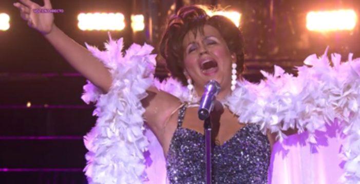 Éxito total de Cristina Ramos en 'Tu cara me suena'