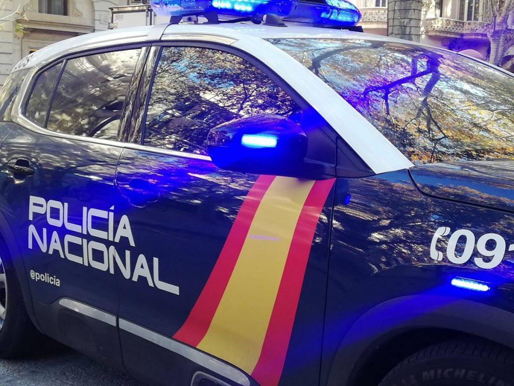 Un coche de la Policía Nacional. EP