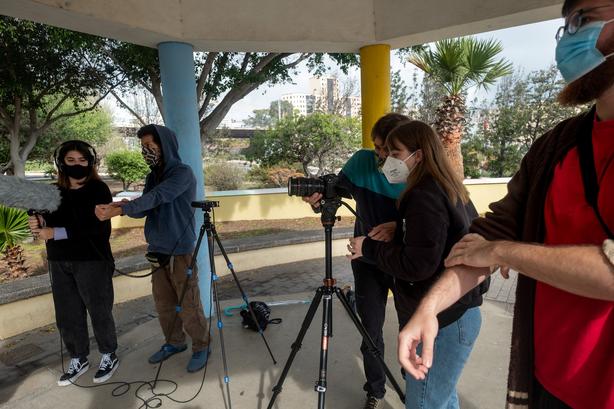 'Barriometrajes' ha buscado a los protagonistas de cada barrio de los 24 que integran Ofra-Costa Sur. FRAN PALLERO