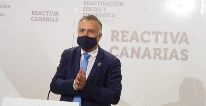 """Ángel Víctor Torres: """"Tenerife está muy cerca del confinamiento"""""""