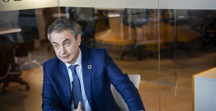 """Zapatero pide a Europa que """"reflexione"""" sobre los comicios en Venezuela y se """"separe"""" de Trump"""