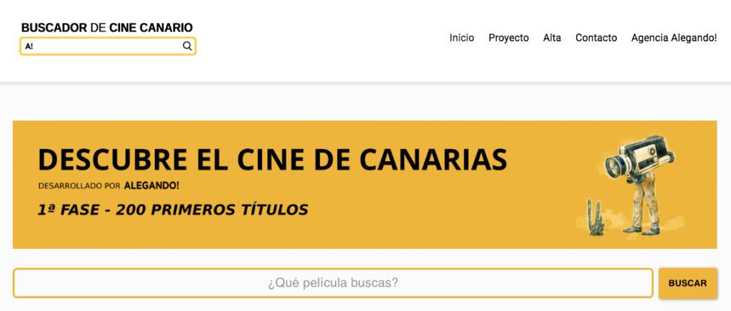 Nace un buscador 'online' centrado en películas y cortometrajes de Canarias