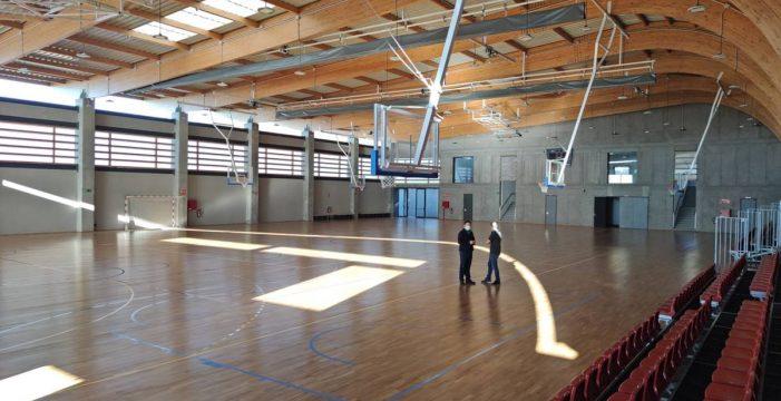 Finalizan los trabajos del nuevo polideportivo de Valle San Lorenzo